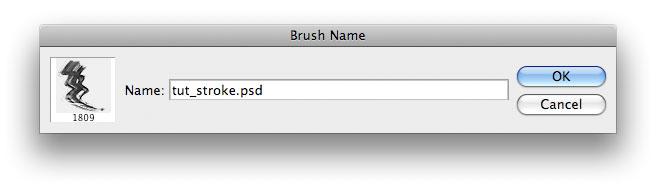Create brush preset